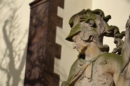 patron: Saint Florian, patron of firefighters
