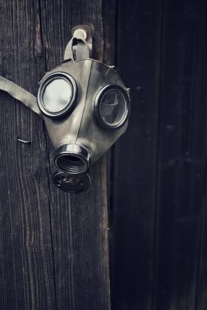 Gas mask photo