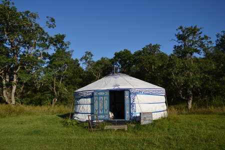 Yurt - Mongolian Ger photo
