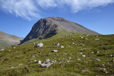 Ben Nevis - the highest mountain in Britain  Stock Photo