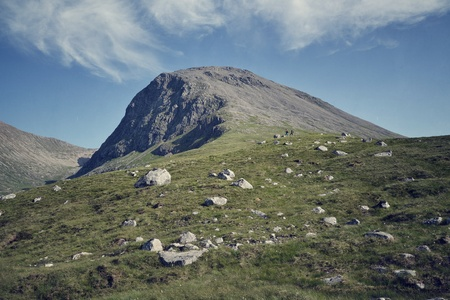 Ben Nevis - the highest mountain in Britain  photo