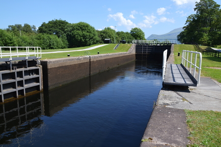 longest: Neptunes Staircase on the Caledonian Canal, the longest in Britain