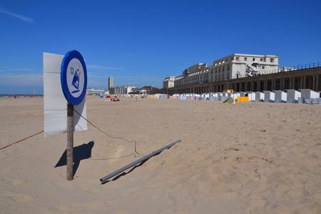 La Plage A Ostende En Belgique 2016 Banque D Images Et Photos Libres De Droits Image 58321325