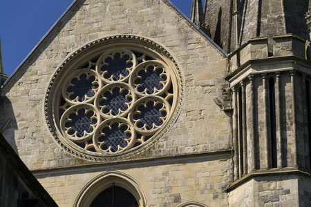 Cathedral Church of the Holy Trinity in Chichester, England Stock Photo