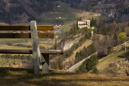 matrei: Weissenstein Castle in ski resort Matrei in Osttirol, Austria