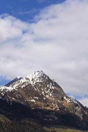Mountains in ski resort Matrei in Osttirol, Austria