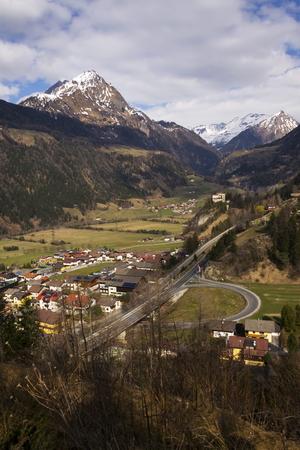 matrei: Mountains in ski resort Matrei in Osttirol, Austria