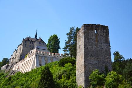 Cesky Sternberk Castle in Czech Republic, Eastern Europe