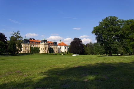 Baroque Castle Lany, summer residence of President of Czech Republic Editorial