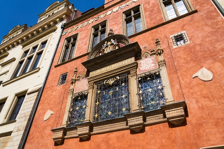 Prague Coat of Arms, Old Town Hall, Prague, Czech Republic