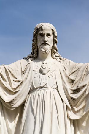 Jesus Christ with open arms statue, Velehrad Basilica, Czech Republic