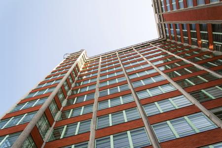 Zlin Skyscraper 21th administrative building from 1938 in Zlin, Moravia, Czech Republic Editorial