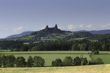 Czech Castle in the countryside photo