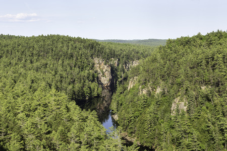 algonquin park: Barron Canyon - Algonquin Park Stock Photo