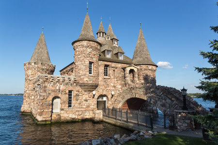 lawrence: Boldt Castle in the St. Lawrence