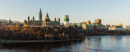 City of Ottawa in the early morning hours