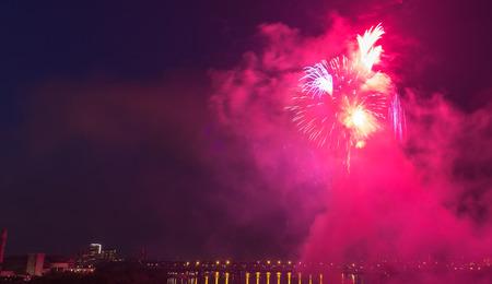 fireworks show: Fireworks light show