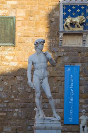 firenze: Statue of David, Firenze, Florence, Italy, Europe