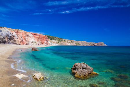 cyclades: Paliochori beach, Milos island, Cyclades, Aegean, Greece