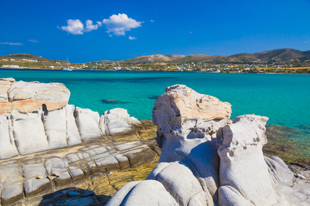 greece granite: Kolymbithres beach, Paros island, Cyclades, Aegean, Greece
