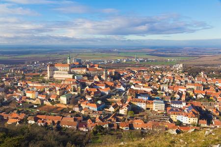 Mikulov castle, Southern Moravia, Czech Republic, clear sky