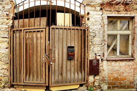 Old door in central Prague, Europe Stock Photo - 954551