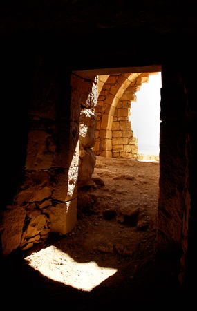 cave house: Cave house in the Nabatean city of Abdat