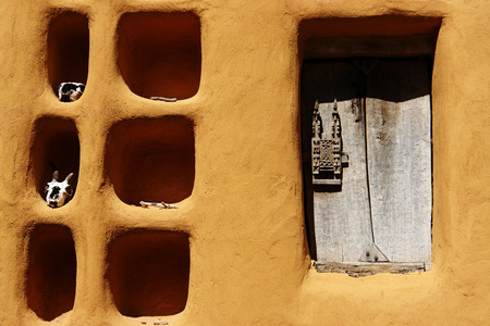 Detailed view of a Dogon house, Mali, Africa Stock Photo - 1575486