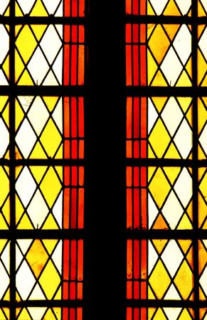 Colorful window in a church, abstract Stock Photo - 1921806