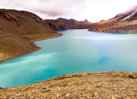 ネパールのマスタング地域の自然と風景