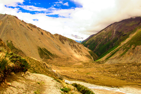 Nature and landscape from Annapurna circuit and Mustang area