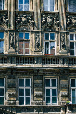 Budapest Hungary july 15, 2020 View of the architecture of historical building in the downtown area of Budapest, capital of Hungary and the most populous city of Hungary