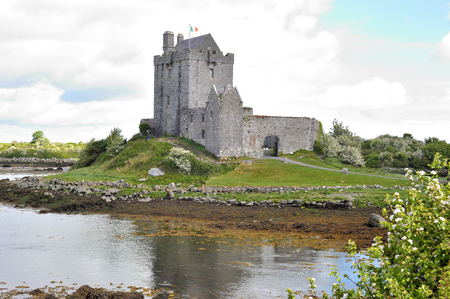 co: Dungory East, Kinvarra, Co. Galway, Ireland June 2017,Dunguaire Castle exterior.