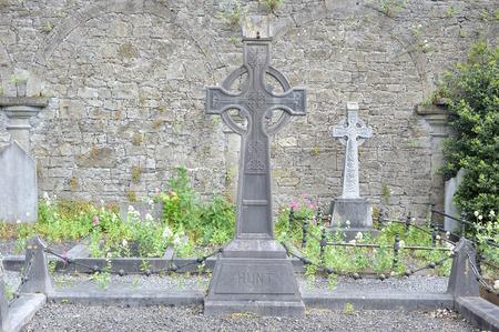 Limerick , Ireland June 2017,Saint Marys Cathedralt Cemetery, Hunt Grave