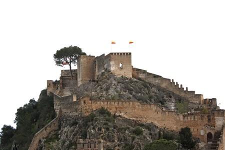 tuina: Xativa castle, spain