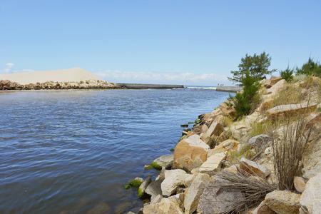 Rocky river side