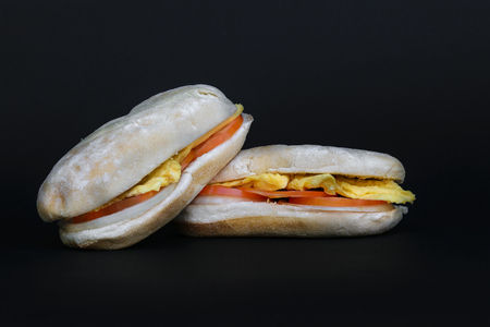 Simple and delicious sandwich Stock Photo - 103912856