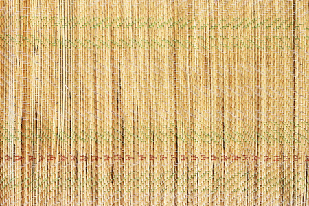 matting: Straw mat texture of a rush matting for the sand.