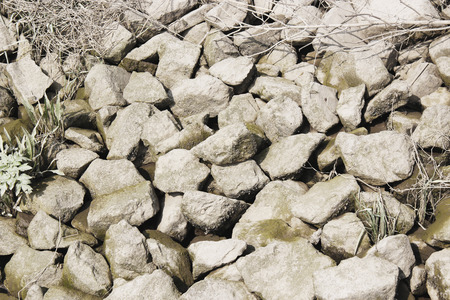 riverbed: river stones background