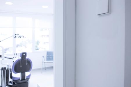 Dental clinic office interior view Standard-Bild