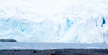 iceberg floating in antarctica