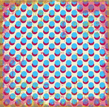 geometric style: Abstract geometric style. Illustration