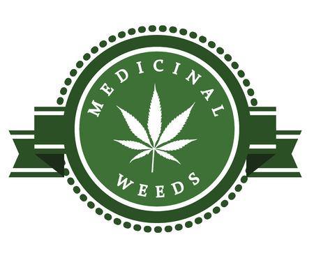 medicinal: medicinal marijuana label