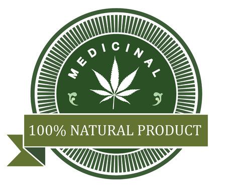 hallucinogen: medicinal marijuana label