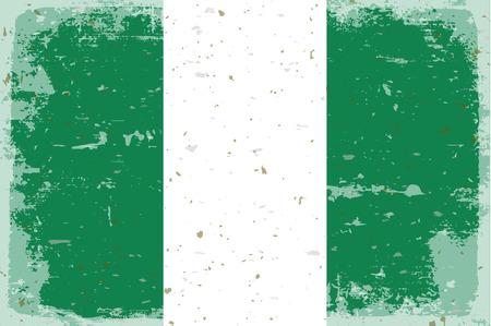 nigeria: Flag of Nigeria