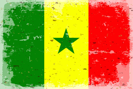 senegal: Flag of Senegal