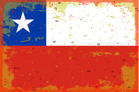 chile: Flag of Chile