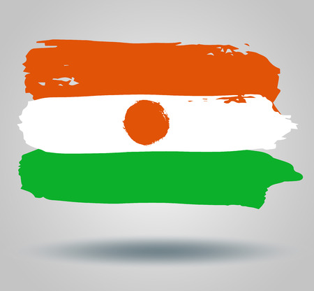 niger: Flag of Republic of niger