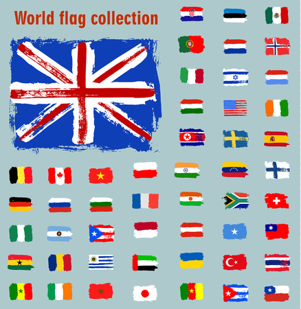 flags of the world: world flags collection