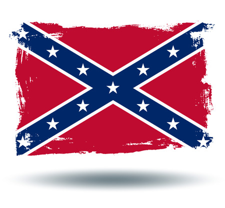 472 confederate flag stock illustrations, cliparts and royalty